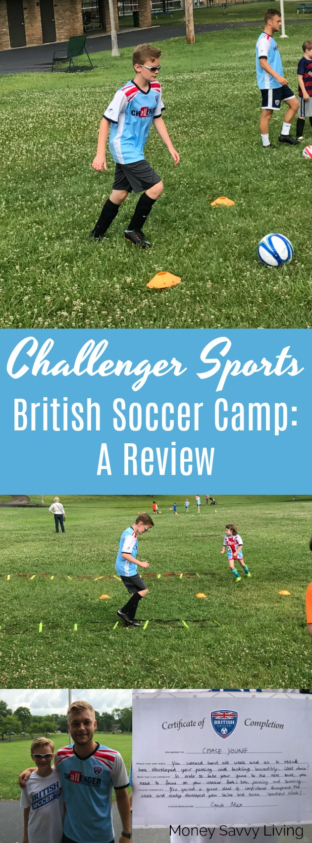Challenger Sports British Soccer Camp: A Review // Money Savvy Living