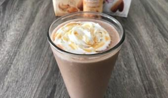 Chocolate Caramel Chia Smoothie