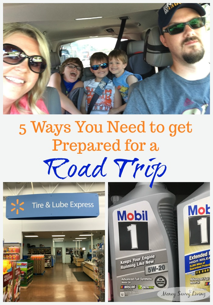 5 Ways You Need to Get Prepared for a Road Trip // Money Savvy Living