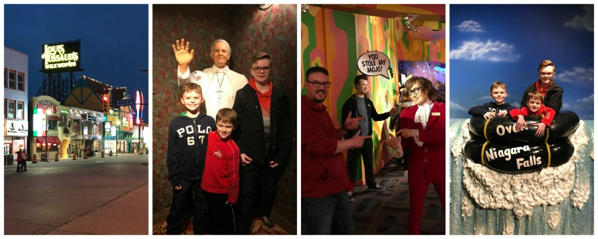 Family Friendly Things to do in Niagara Falls // Money Savvy Living #NiagaraFalls #exploreniagara #visitniagara #waxmuseum