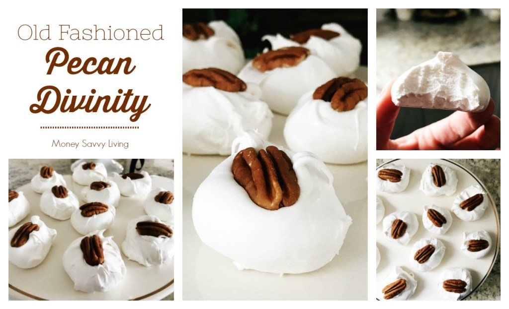 Old Fashioned Divinity Candy #divinity #divinityrecipe #pecandivinity #divinitycandy