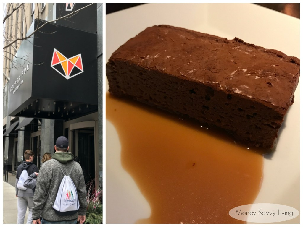 Best places to eat in Chicago! #chicago #chicagofood #travelchicago #copperfox #gastropub #brownie