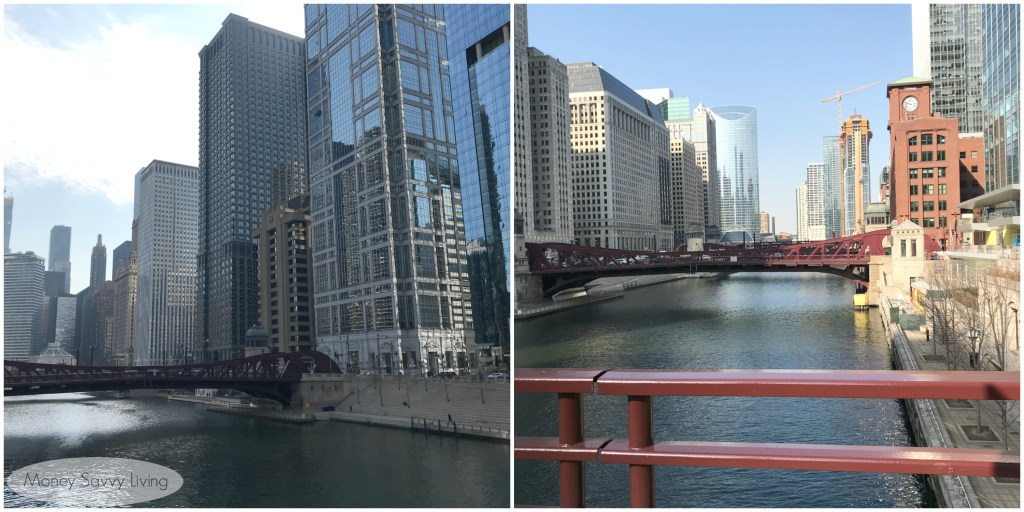 Stroll along the Chicago River and enjoy the unique view of the city #chicago #choosechicago #riverwalk #Chicagoriver