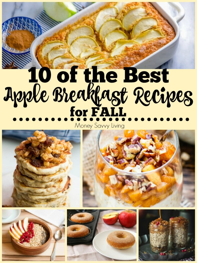 Healthy Apple Breakfast Recipes for Fall #apple #applerecipes #healthy #healthyrecipes #healthyapplerecipes #breakfast #breakfastrecipes #healthybreakfast