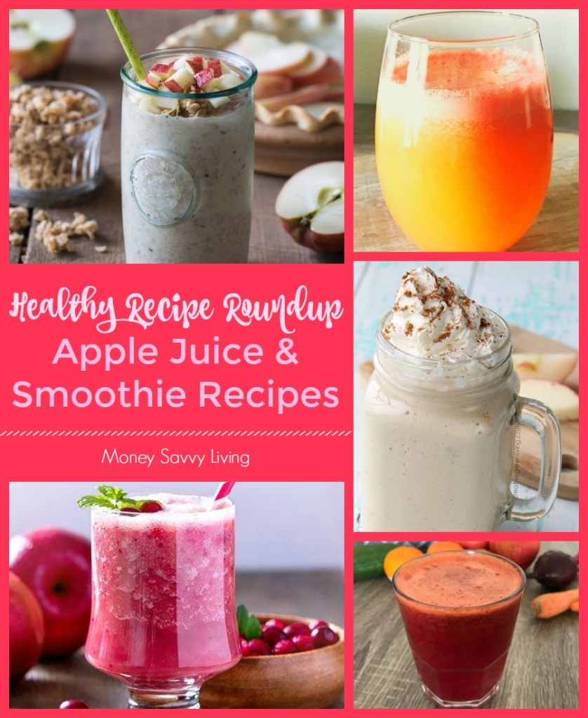 Healthy Apple Juice and Smoothie Recipes for Fall #apple #appledesserts #applerecipes #healthy #healthyrecipes #healthyapplerecipes #smoothie #smoothierecipes #juice #juicerecipe #juicecleanse #applejuice #applesmoothie