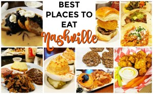 Best places to eat in Nashville + review of Taste of Nashville walking food tour #nashville #visitmusiccity #tasteofnashville #graylinetours #hosted #mediapartner #walkingfoodour #foodtour #nashvilleeats #hardrockcafe #jacksbbq #googoo #biscuitlove #acmefeedandseed