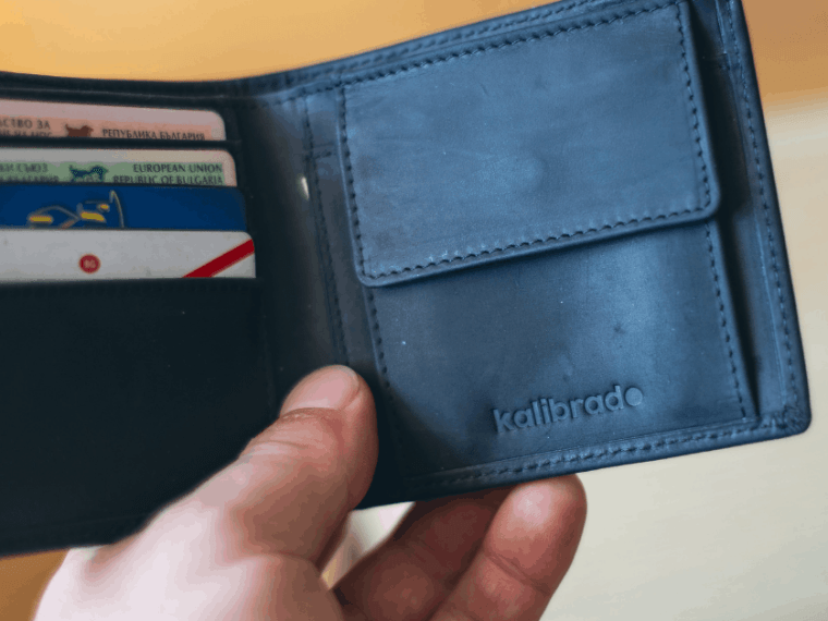 wallet full of bank cards