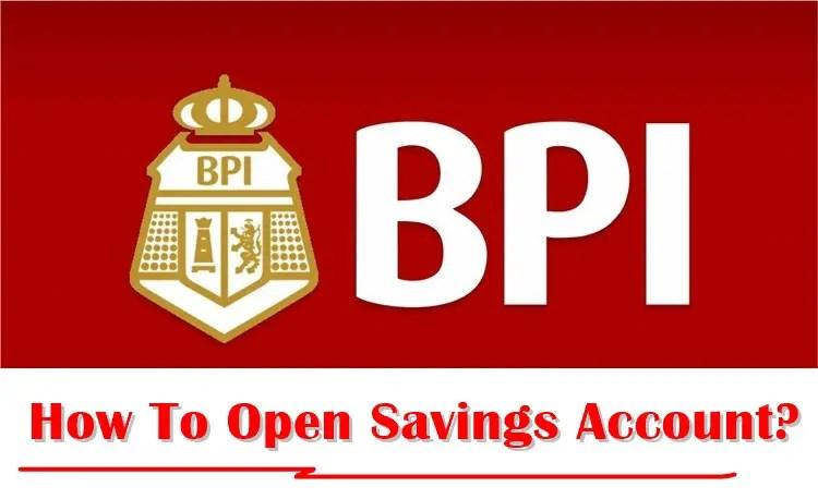 Bpi savings account passbook