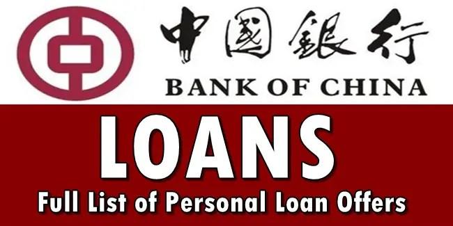 Bank of China Loans