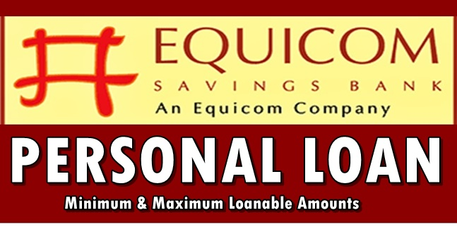 Equicom Bank personal loan