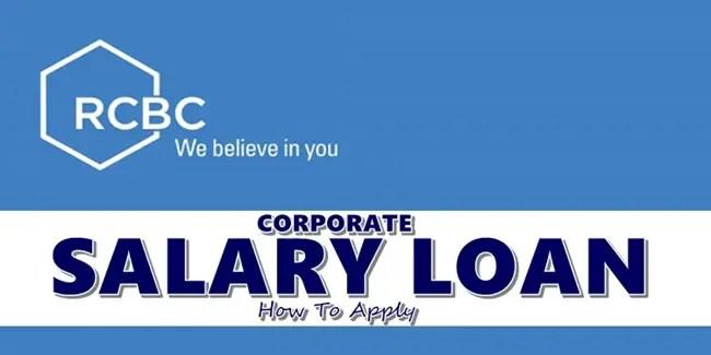 RCBC Corporate Salary Loan