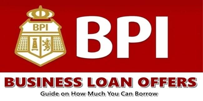 BPI Business Loan Offers