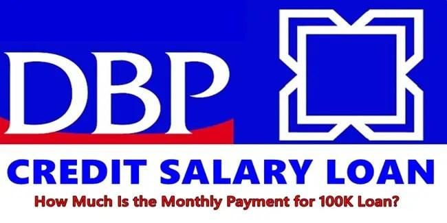 DBP Credit Salary Loan