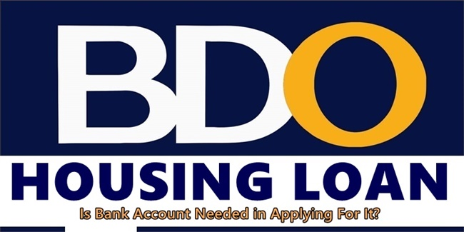 BDO Housing Loan