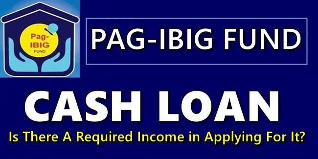 Pag-IBIG Fund Cash Loan