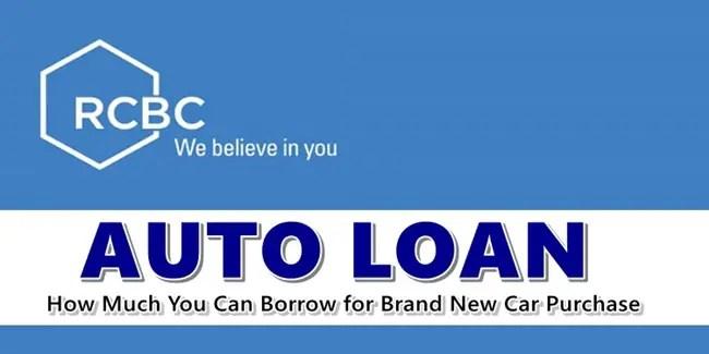 RCBC Auto Loan