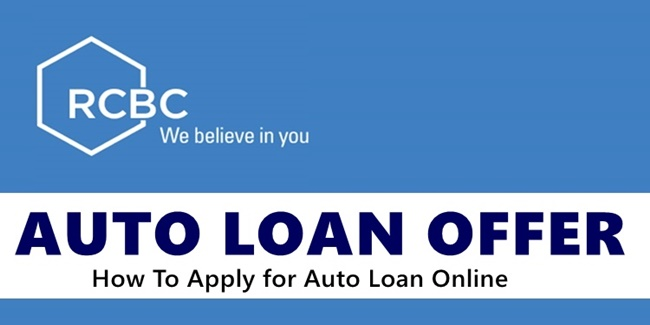 RCBC Auto Loan Offer