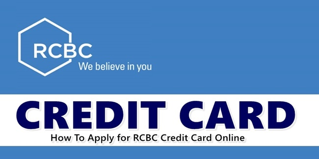 Apply RCBC Credit Card