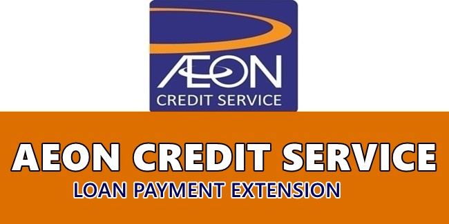 AEON Credit Service Loan Payment Extension