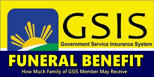 GSIS Funeral Benefit