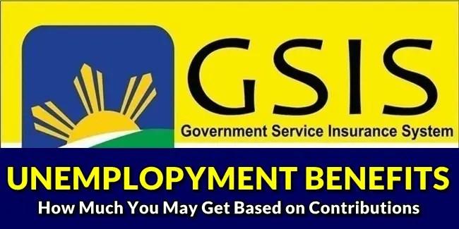 GSIS Unemployment BenefitS