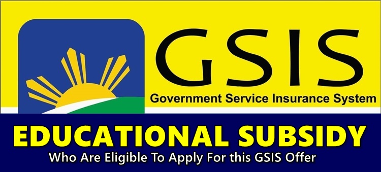 GSIS Education Subsidy