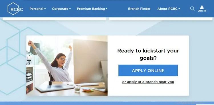 RCBC Loan Online Application
