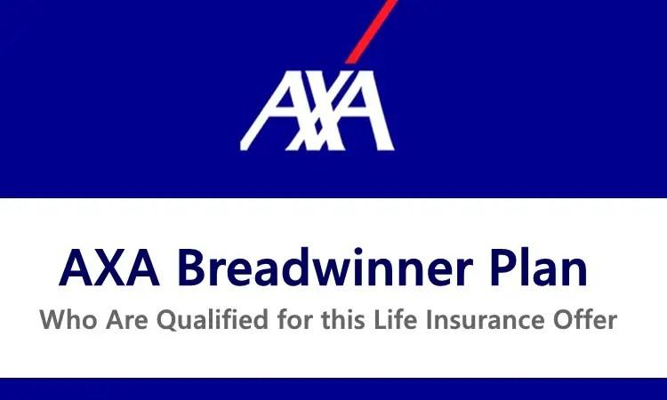 AXA Breadwinner Plan