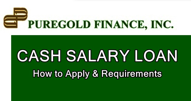 Puregold Cash Salary Loan