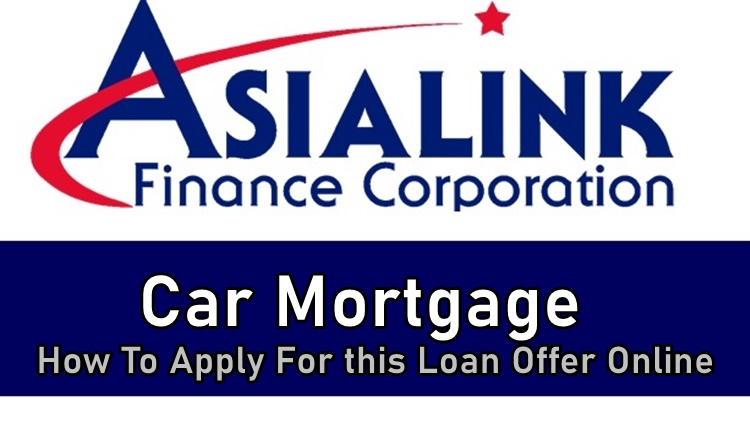 Asialink Car Mortgage