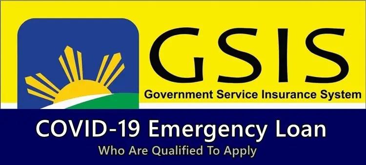 GSIS COVID-19 Emergency LoanGSIS COVID-19 Emergency Loan