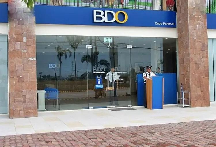 BDO Auto Loan Income Requirement