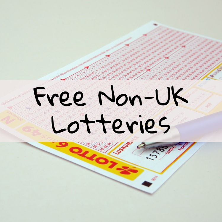 Free Non-UK Lotteries Page Featured Image