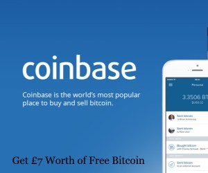 Coinbase £7 Worth of Free Bitcoin Offer
