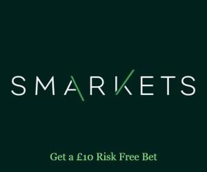 Smarkets £10 Risk Free Bet Offer