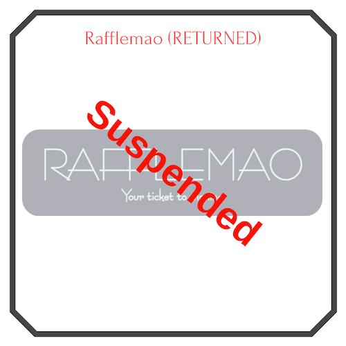 Rafflemao Free Lottery Suspended Logo