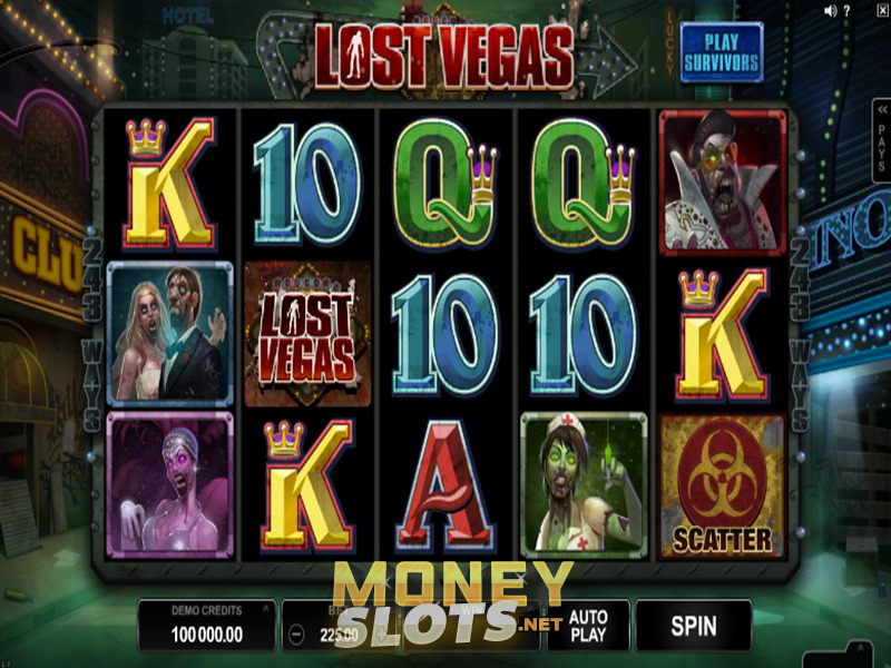 Lost Vegas Slot Review  Microgaming  Play Lost Vegas
