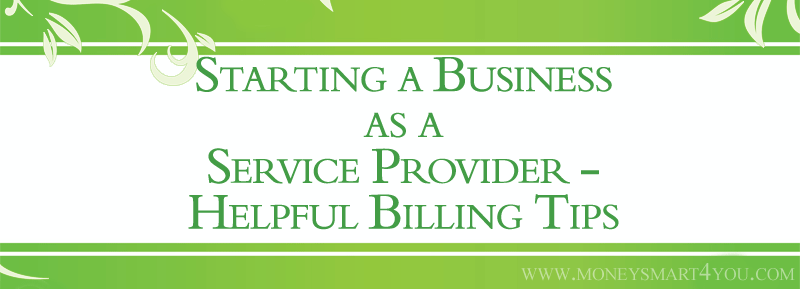 Starting a Business as a Service Provider