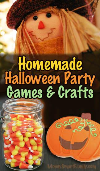 homemade halloween games crafts