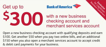 BOA Business $300 Promotion