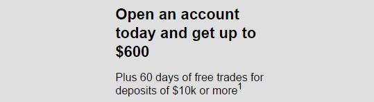 E*Trade $600 Bonus