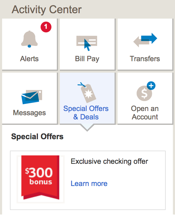 bank of america coupons for opening account