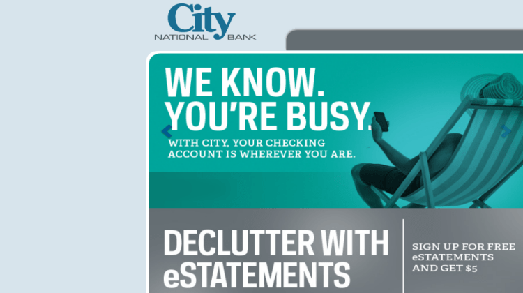 City National Bank Offers