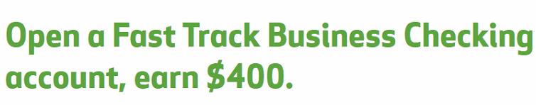 Huntington Bank Fast Track Business Checking $400 Bonus