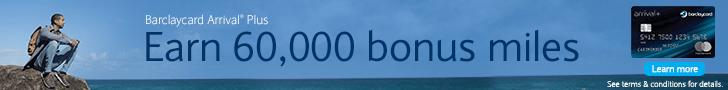 Barclaycard Arrival Plus $600 Bonus Offer