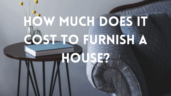 it cost to furnish a house