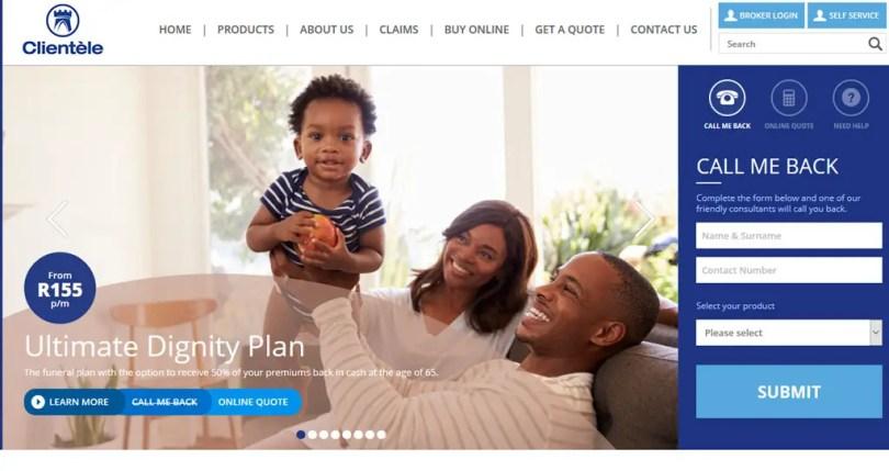 Clientele SA Official Website