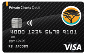 FNB Private Clients Credit Card