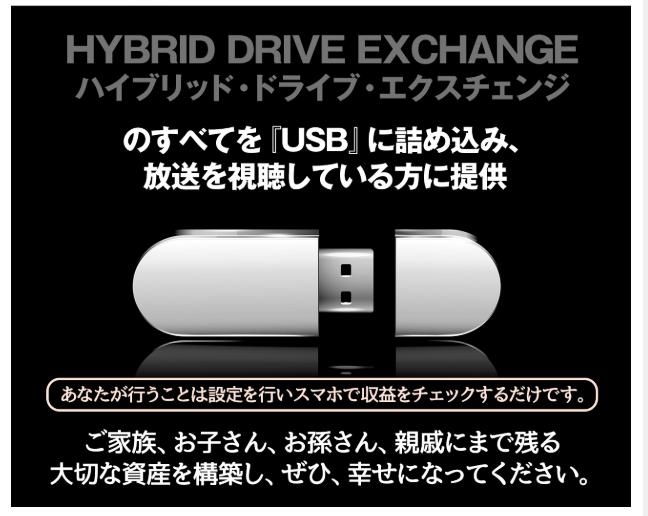 三峰勇次 の HYBRID DRIVE EXCHANGE ( ハイブリッド・ドライブ・エクスチェンジ