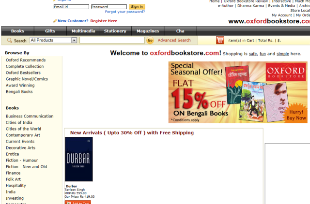 Online Book Store in India